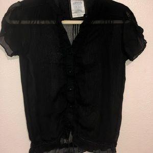 Vintage Sheer Levi's Blouse